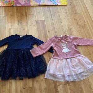 H&M 12-18m baby girl dresses